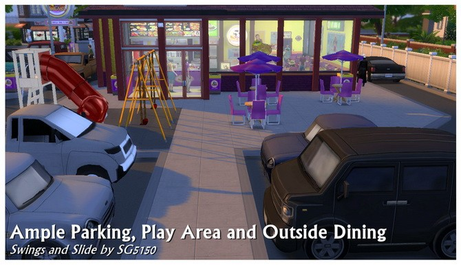 Moobie's Fast Food Restaurant at SimDoughnut image 1857 670x385 Sims 4 Updates