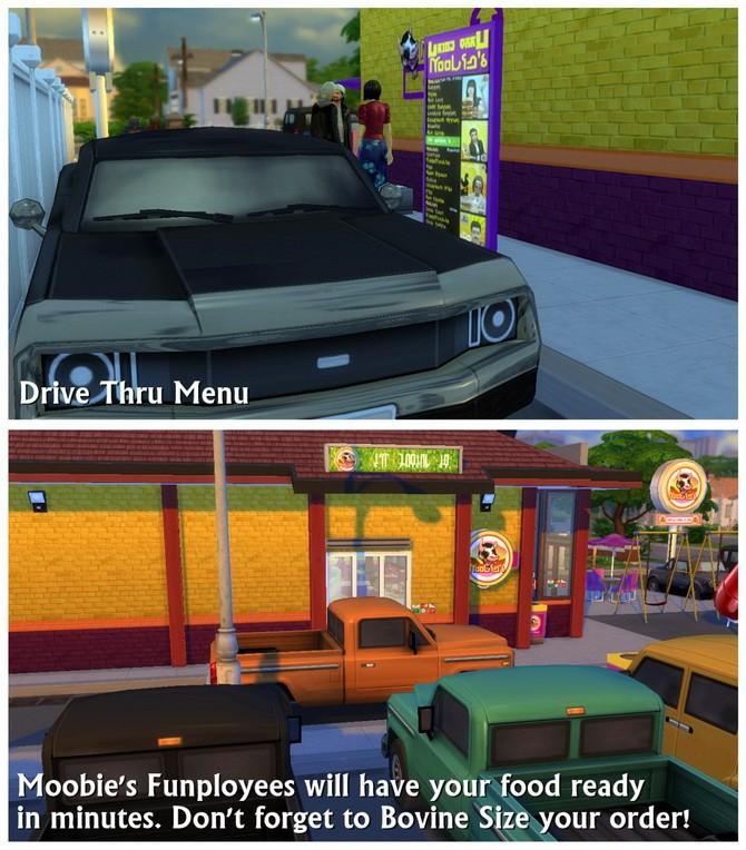 Moobie's Fast Food Restaurant at SimDoughnut image 1874 670x764 Sims 4 Updates