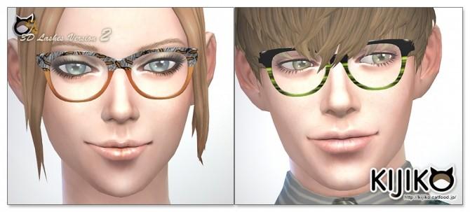 Sims 4 3D Lashes Version2 for Skin Detail at Kijiko