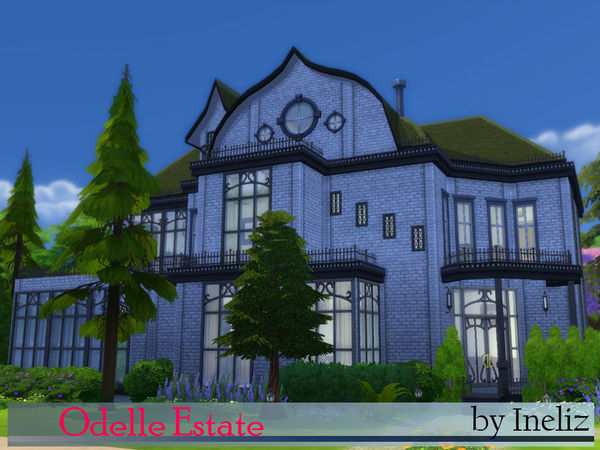 Odelle Estate by Ineliz at TSR image 19102 Sims 4 Updates