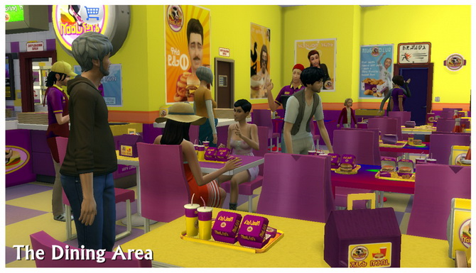 Sims 4 fast food downloads » Sims 4 Updates