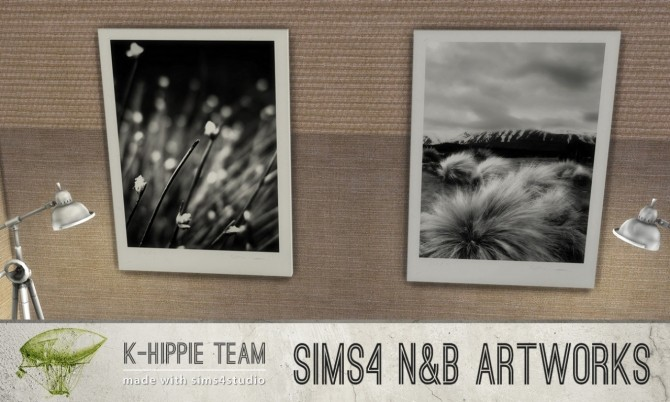 7 Artworks B W Photography Nature Serie Vol 1 At K Hippie