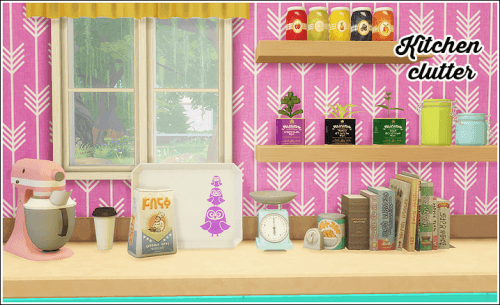 Kitchen clutter at Lina Cherie image 194 Sims 4 Updates