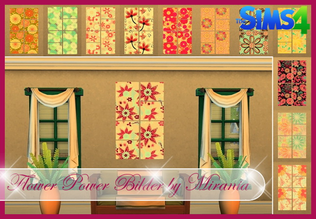 Curtains, rugs, walls, paintings, dress.... at Beauty Sims image 195 Sims 4 Updates