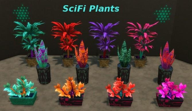 Scifi Plants At Leander Belgraves 187 Sims 4 Updates
