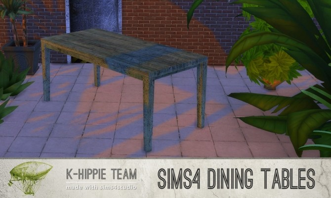 5 Dining Tables Metal Serie volume 1 at K hippie image 1989 670x402 Sims 4 Updates