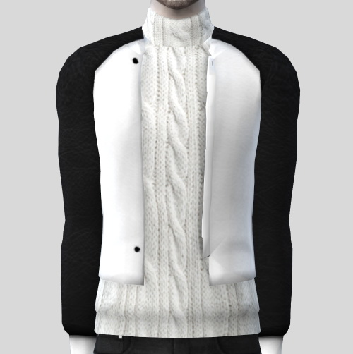 Turtleneck sweater with jacket by lonelyboy at Happy Life Sims image 20012 Sims 4 Updates