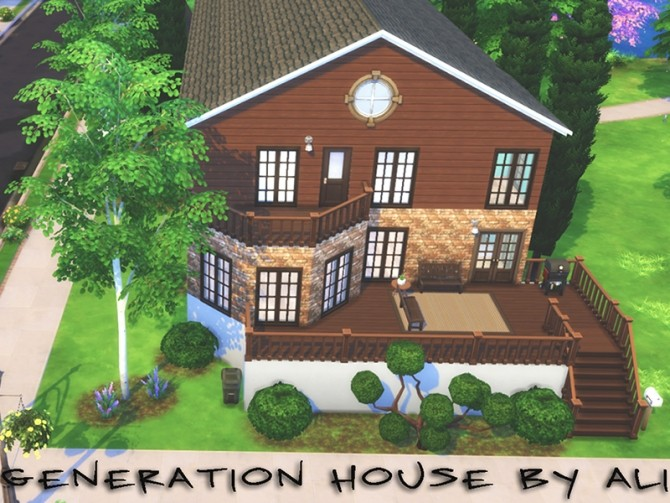 Generation House by Ali at Mod The Sims image 2029 670x503 Sims 4 Updates
