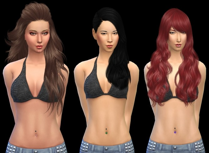Sims 4 Belly piercing at 19 Sims 4 Blog
