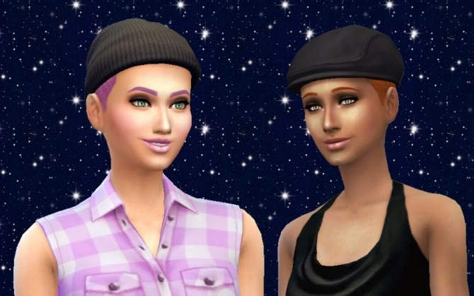 Sims 4 Hair Rollers Conversion at My Stuff