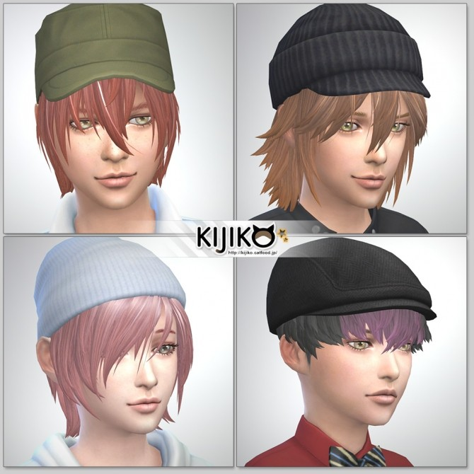 haircut for kid boy hair for vol 1 at kijiko 187 sims 4 updates 2087