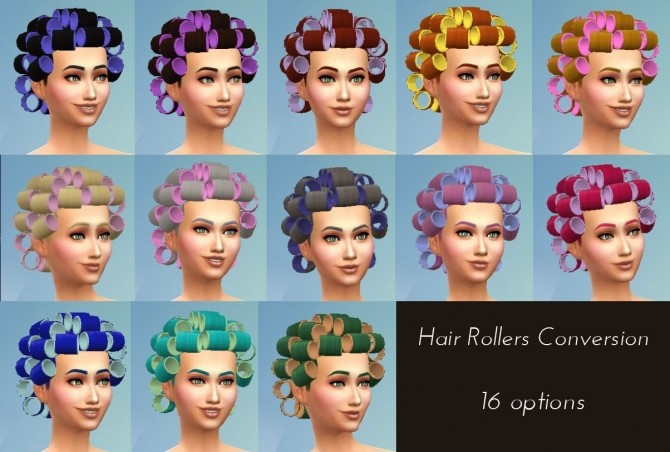 Hair Rollers Conversion at My Stuff image 2106 670x452 Sims 4 Updates