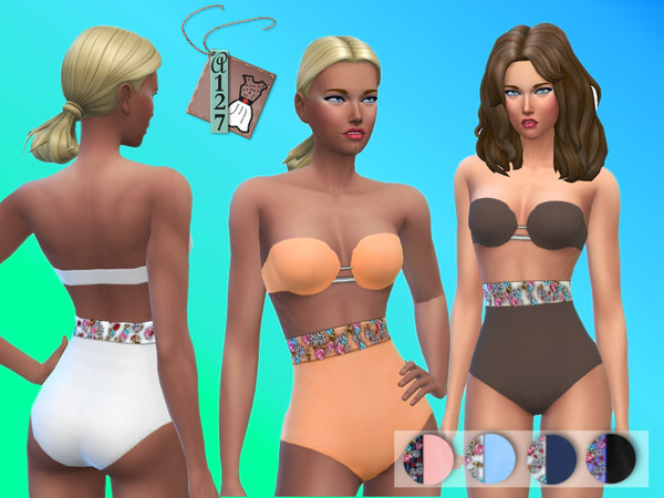 Crystals Swimsuit by Altea127 at TSR image 21100 Sims 4 Updates