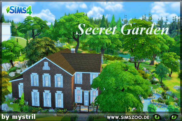 Secret Garden by mystril at Blacky's Sims Zoo image 213 Sims 4 Updates