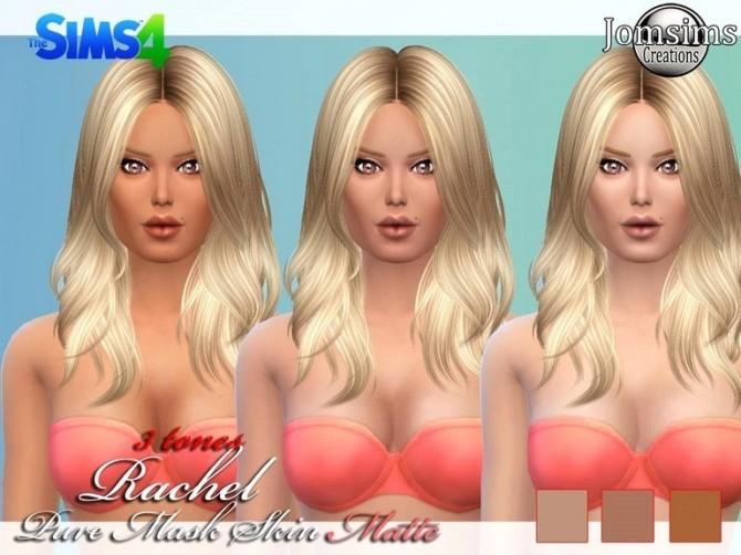 Sims 4 Rachel skin mask at Jomsims Creations