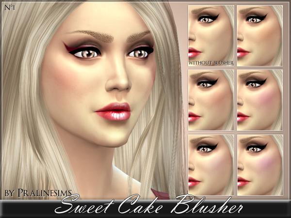 Sweet Cake Blusher by Pralinesims at TSR image 2137 Sims 4 Updates