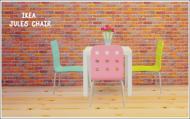 Sims 4 IKEA Jules chair at Lina Cherie