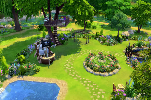 Secret Garden by mystril at Blacky's Sims Zoo image 215 Sims 4 Updates