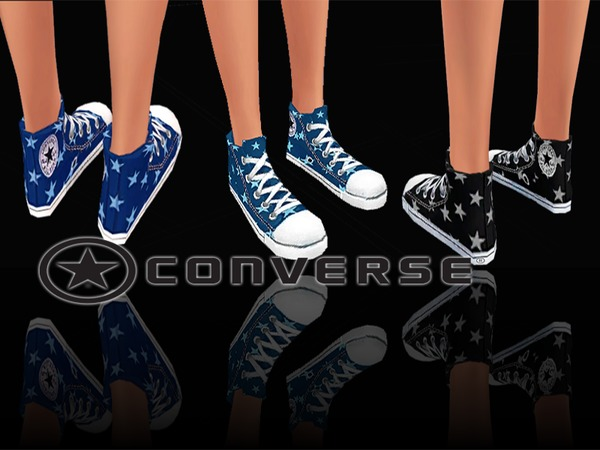 Sneakers Jeans&Stars by Pinkzombiecupcakes at TSR image 2214 Sims 4 Updates