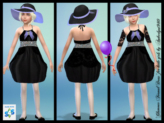 Glamour Formal Set for little girls at Amberlyn Designs image 2233 Sims 4 Updates