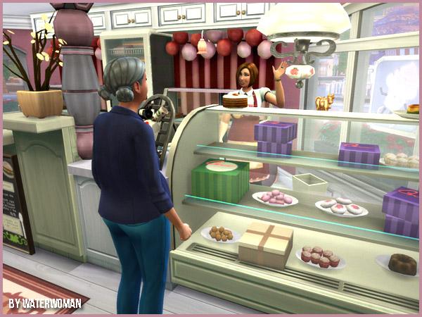 The Cupcake Shop by Waterwoman at Akisima image 2234 Sims 4 Updates