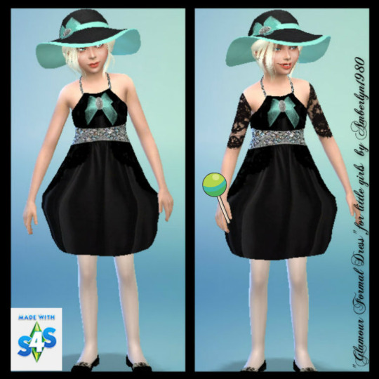 Glamour Formal Set for little girls at Amberlyn Designs image 2242 Sims 4 Updates