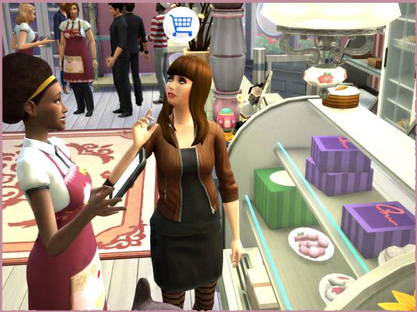 The Cupcake Shop by Waterwoman at Akisima image 2243 Sims 4 Updates