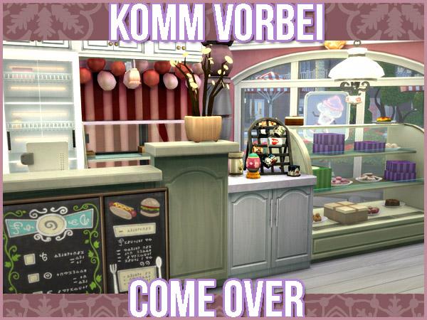 The Cupcake Shop by Waterwoman at Akisima image 2252 Sims 4 Updates