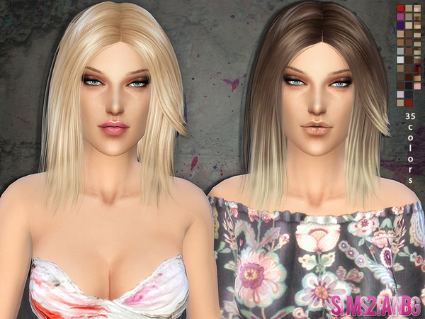 Medium Hair 01 by sims2fanbg at TSR image 228 Sims 4 Updates