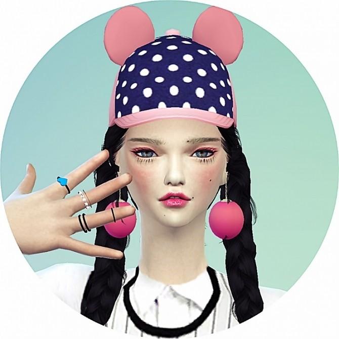 Bear ears cap at Marigold image 2302 670x670 Sims 4 Updates