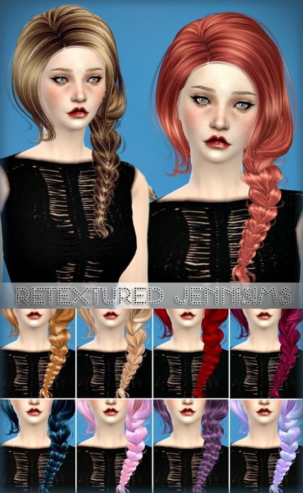 Sims 4 Newseas Immortal Hair retextured at Jenni Sims