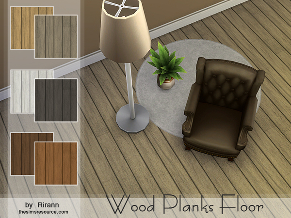 Wood Planks Floor by Rirann at TSR image 23121 Sims 4 Updates