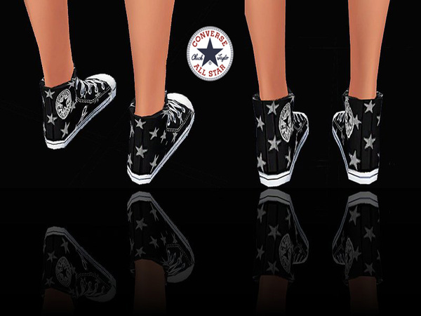 Sneakers Jeans&Stars by Pinkzombiecupcakes at TSR image 2314 Sims 4 Updates