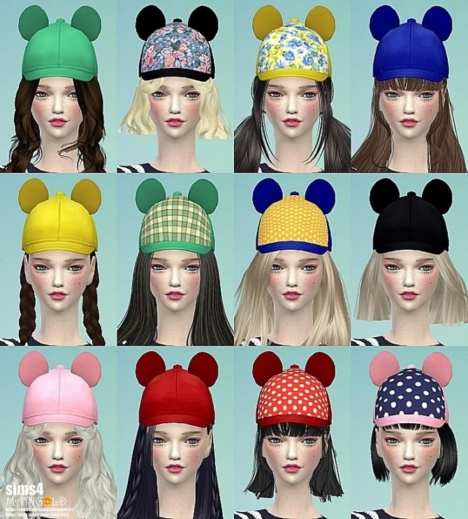 Bear ears cap at Marigold image 2332 670x742 Sims 4 Updates