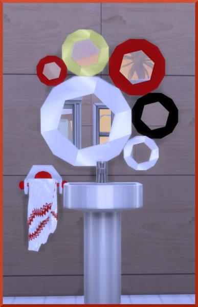 Suncup mirror by Christine1000 at Sims Marktplatz image 2404 Sims 4 Updates
