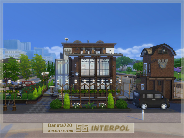 INTERPOL Police Station by Danuta720 at TSR image 2422 Sims 4 Updates