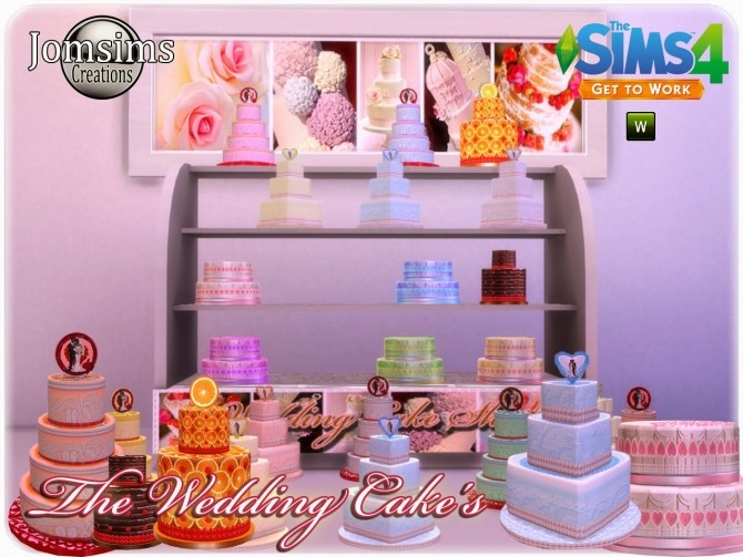how to cook wedding cake sims 4 wedding cake at jomsims creations 187 sims 4 updates 15608