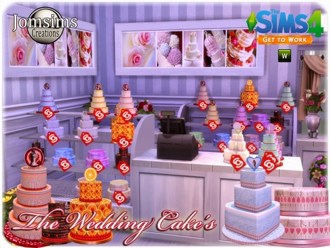 Sims  Where To Get The Wedding Cake