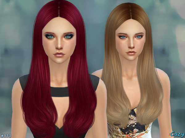 Jodie Hair for females by Cazy at TSR image 246 Sims 4 Updates