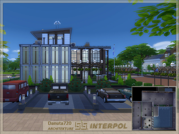 INTERPOL Police Station by Danuta720 at TSR image 2517 Sims 4 Updates