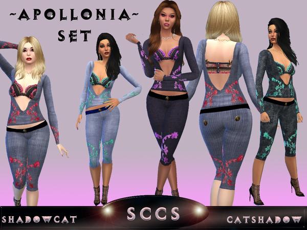 Sims 4 Apollonia set by Shadowcat Catshadow at TSR