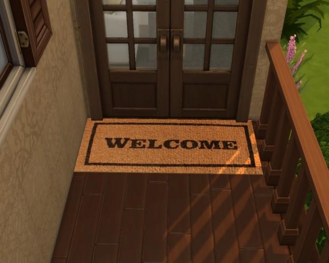 Sims 4 Wipe Yir Feet Doormats by mojo007 at Mod The Sims