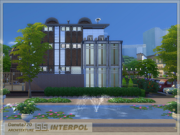 INTERPOL Police Station by Danuta720 at TSR image 2618 Sims 4 Updates