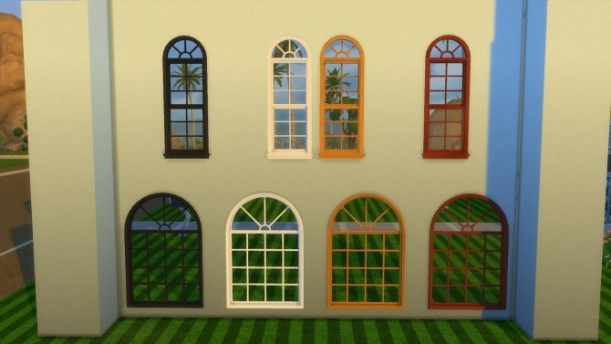 Colonial Build Windows by AdonisPluto at Mod The Sims image 2714 670x377 Sims 4 Updates