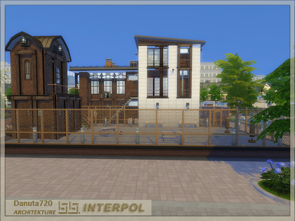 INTERPOL Police Station by Danuta720 at TSR image 2715 Sims 4 Updates