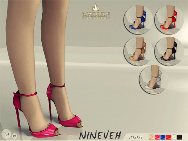 Madlen Nineveh Shoes by MJ95 at TSR image 3014 Sims 4 Updates