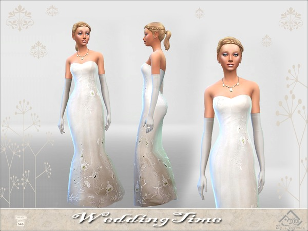 Wedding Time dress by Devirose at TSR image 3122 Sims 4 Updates