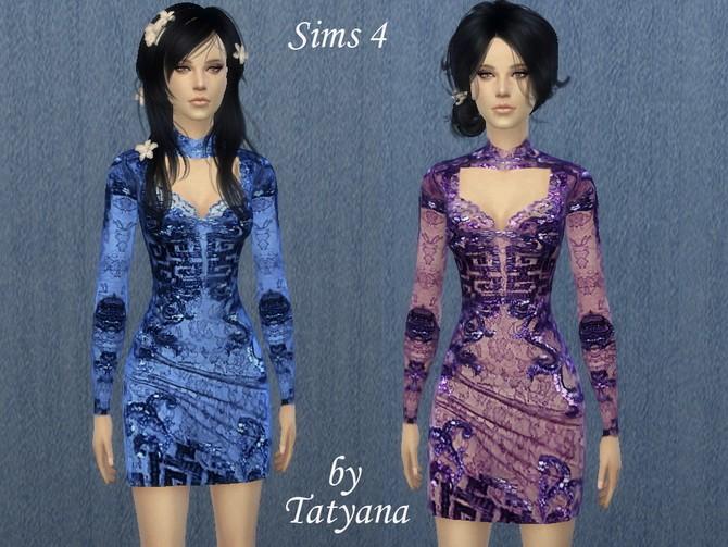 Short Japanese dress at Tatyana Name image 33 670x503 Sims 4 Updates