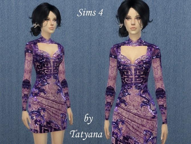 Short Japanese dress at Tatyana Name image 34 670x503 Sims 4 Updates