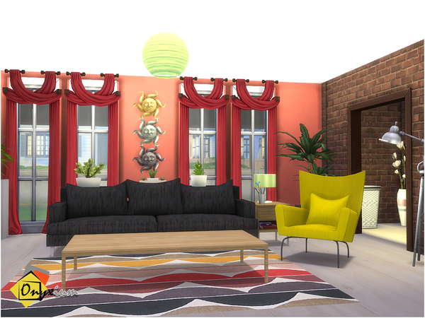 Orson Living Room by Onyxium at TSR image 3516 Sims 4 Updates